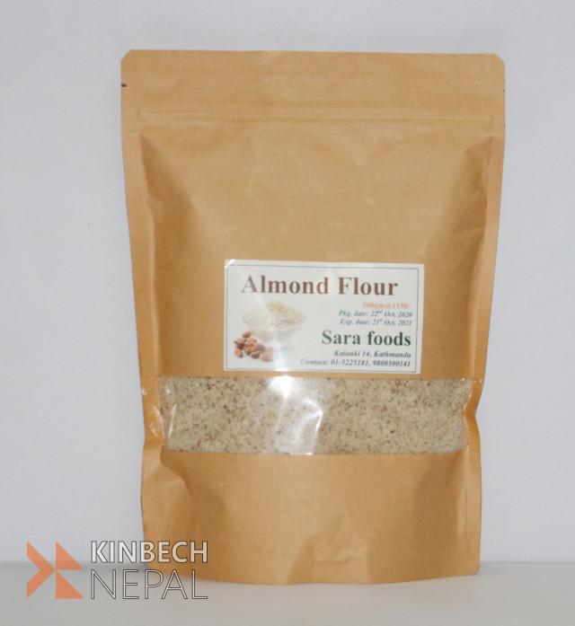 Almond flour | www.kinbechnepal.com