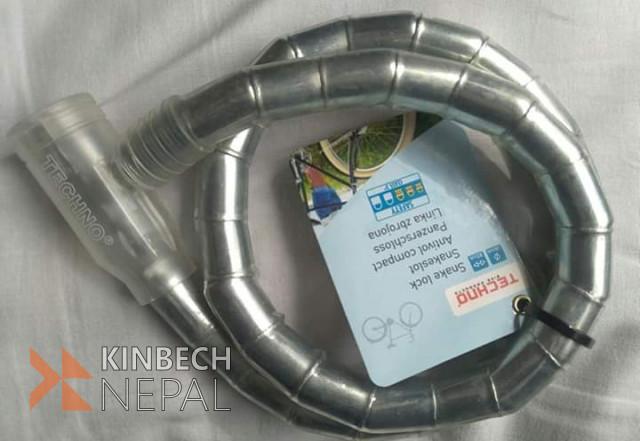 Techno Snake Bike Lock | www.kinbechnepal.com