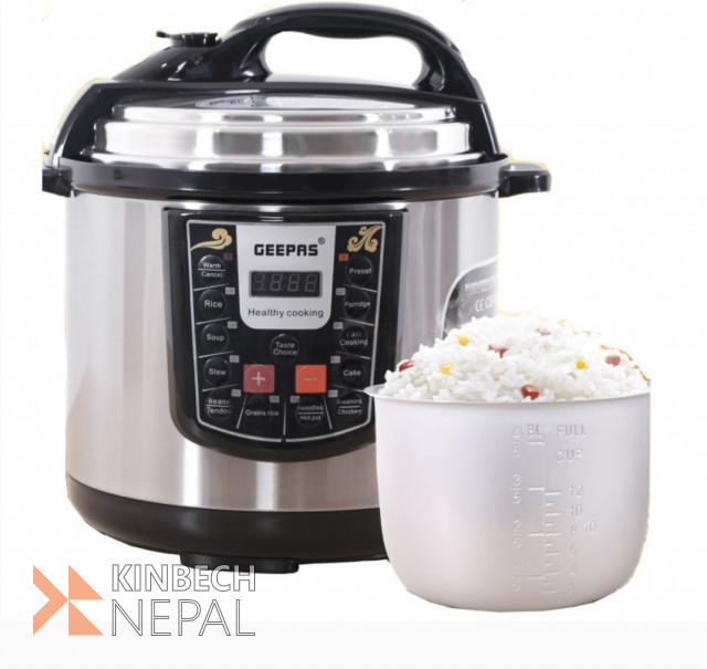 Electric Pressure Cooker (Fully Digital) | www.kinbechnepal.com