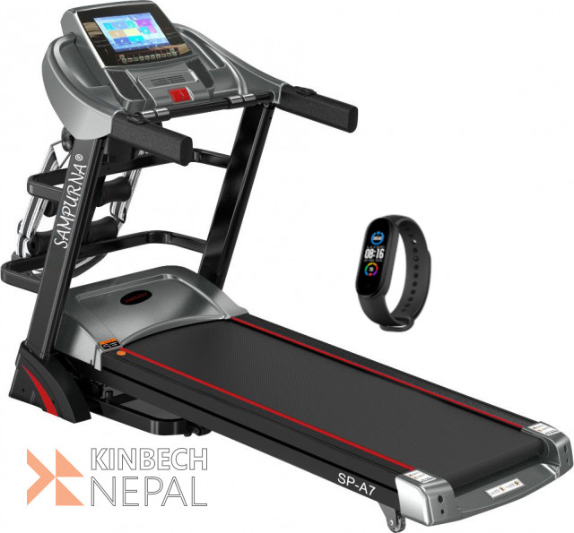 """Multi Function 10.1""""touch Screen Treadmill:android Smart System:5 years warranty 