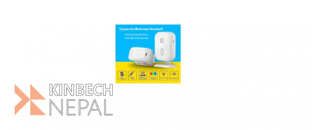 Separate Welcome Doorbell On Sale. | www.kinbechnepal.com