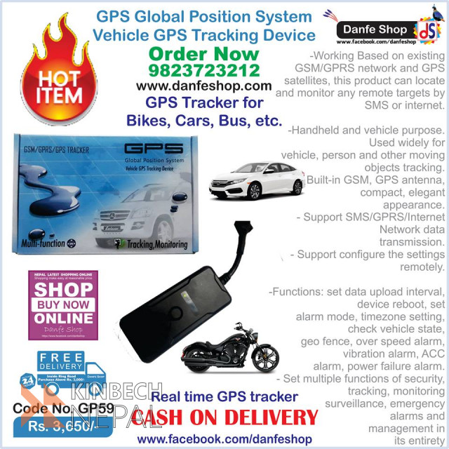 GPS Tracker For Sale | www.kinbechnepal.com