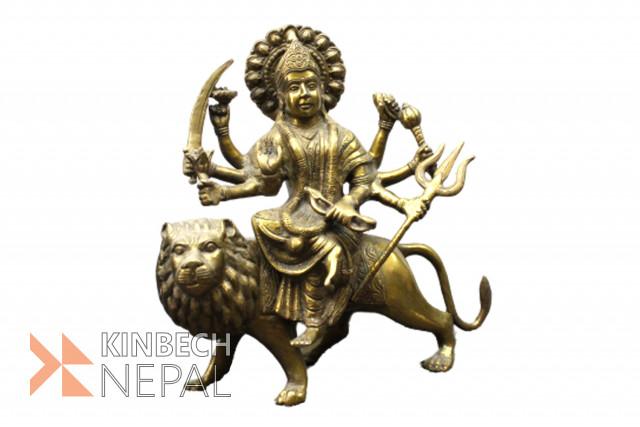 Statue Of Goddess Durga | www.kinbechnepal.com