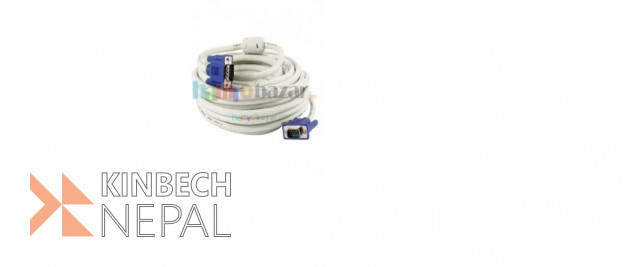Vga Cables Hd 720p(1.5m) | www.kinbechnepal.com