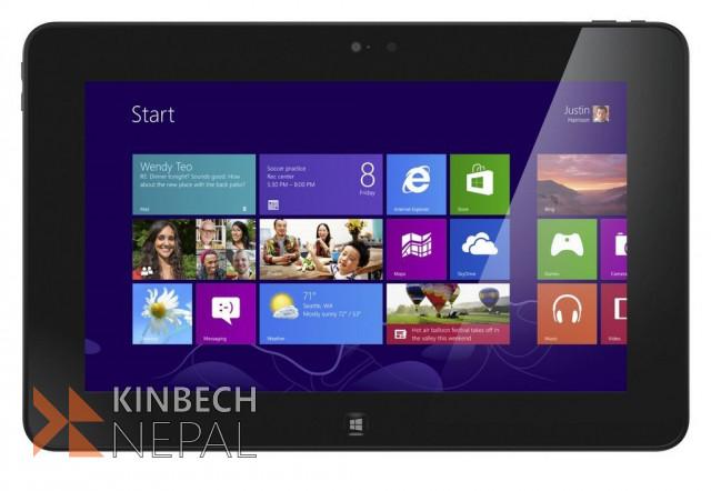 Dell Latitude 10 ST2 Tablet, Intel Atom-Z2760   www.kinbechnepal.com