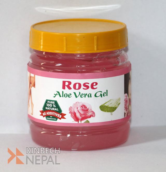 Rose Aloe Vera Gel | www.kinbechnepal.com