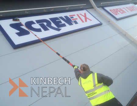 Advertising Board Cleaning Service in Kathmandu, Bhaktapur & Lalitpur. | www.kinbechnepal.com