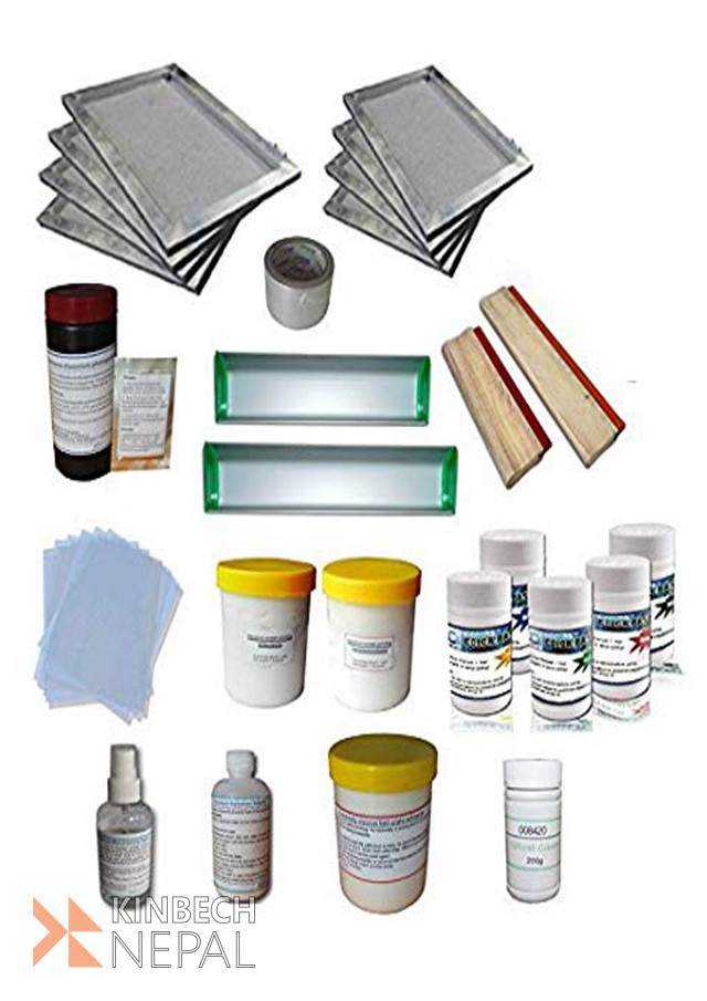 All Kinds of Screen Printing Products   www.kinbechnepal.com