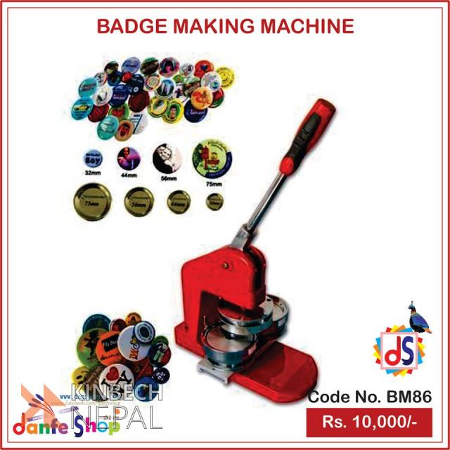 Badge Maker For Sale | www.kinbechnepal.com
