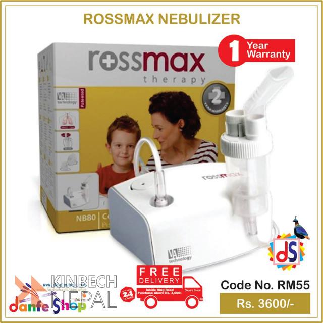 Rossmax Nebulizer For Sale   www.kinbechnepal.com