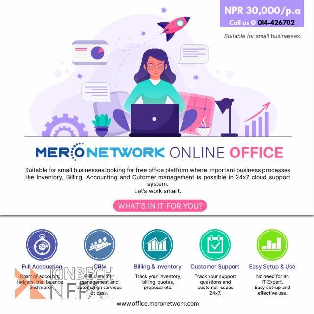 Online Office Software for Small Business | www.kinbechnepal.com
