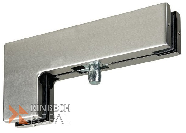 Big L Top Patch Fitting For Glass Door By RV Plus   www.kinbechnepal.com