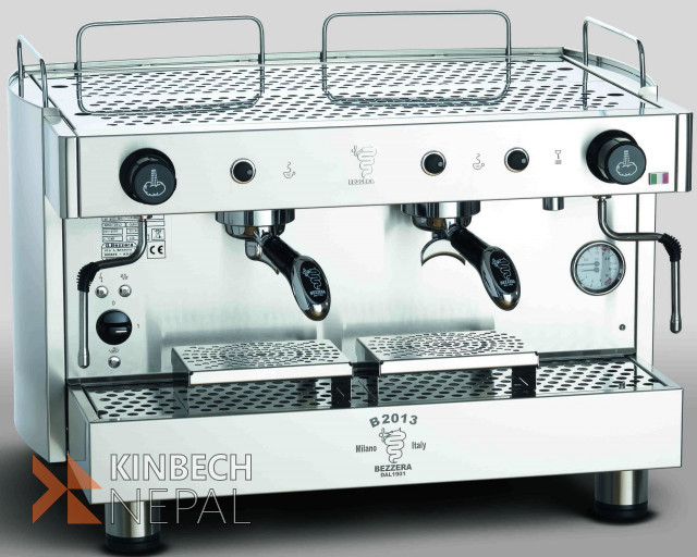 Coffee Espresso Machine Semi Automatic Bezzera B2013 Pm | www.kinbechnepal.com