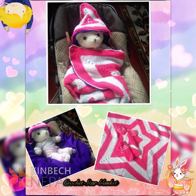 Crochet Star Blanket | www.kinbechnepal.com