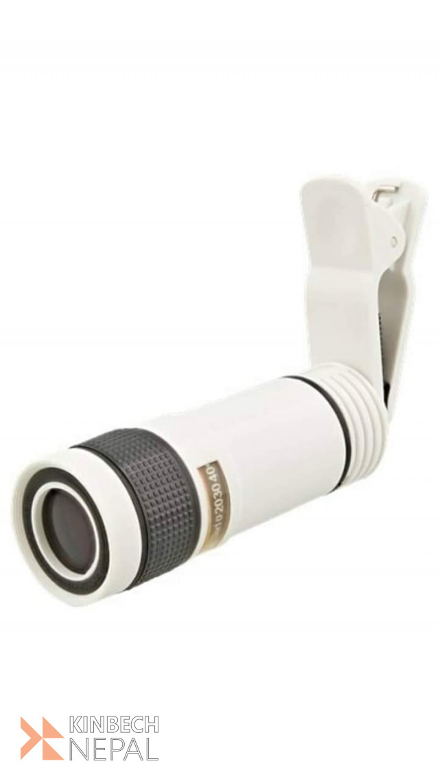 Smartphone zoom lens for Mobile Phone | www.kinbechnepal.com