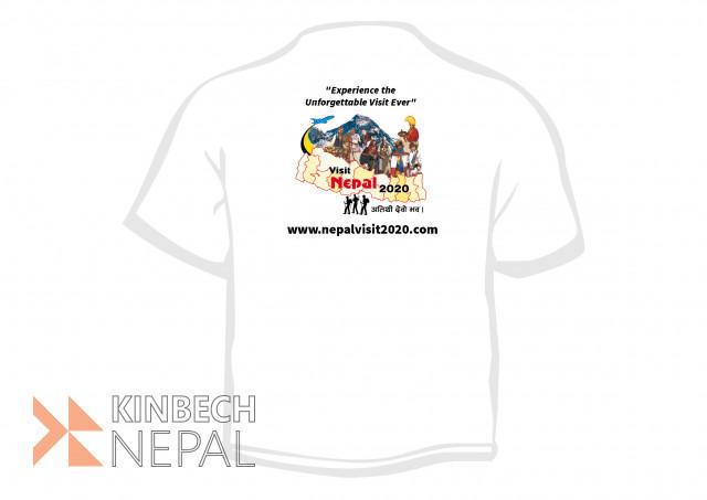 Visit Nepal 2020- T-shirt | www.kinbechnepal.com