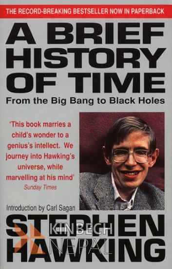 A Brief History Of Time by Stephen Hawking | www.kinbechnepal.com