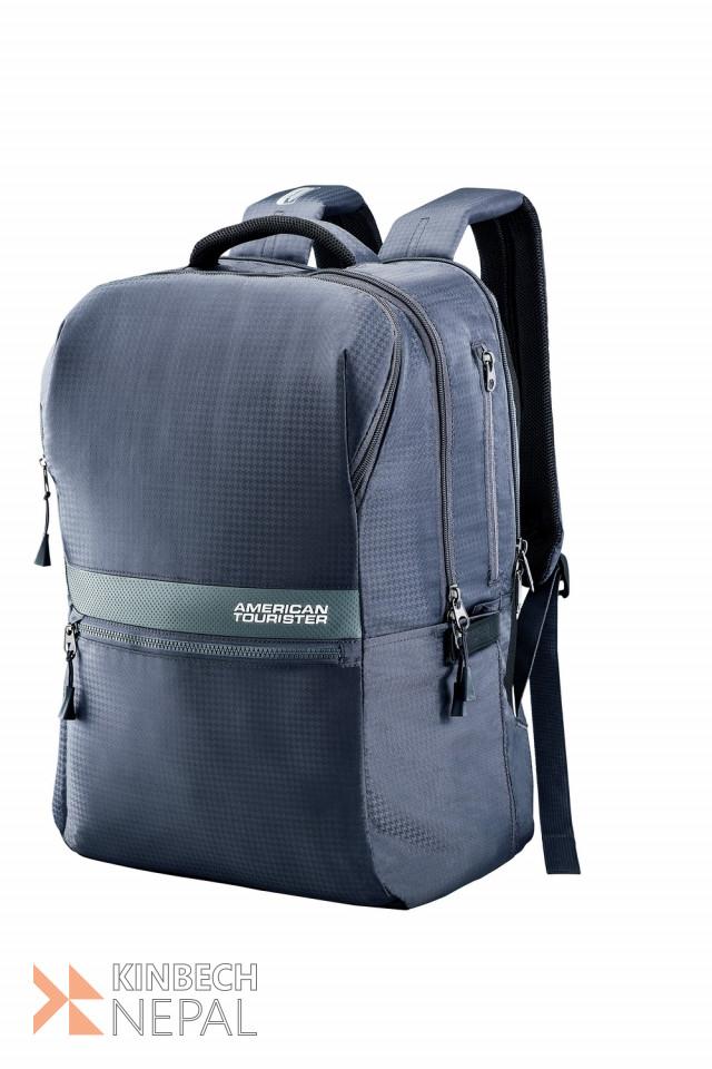 Laptop bag American Tourister INSTA +02 GREY | www.kinbechnepal.com