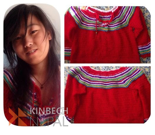 Crochet Sweater | www.kinbechnepal.com