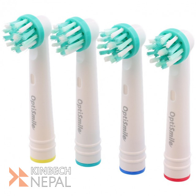 Active Brush Heads 4 pieces | www.kinbechnepal.com