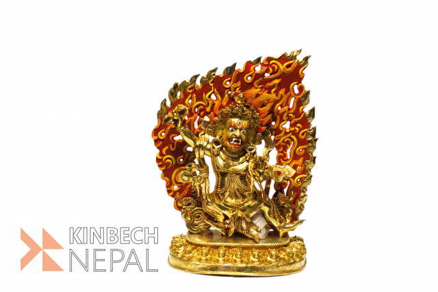 Statue Of Bajra Pani Gold Plated | www.kinbechnepal.com