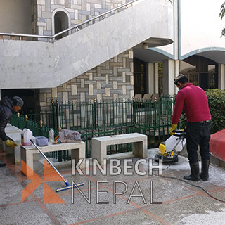 Marble, Tiles and Chips Cleaning Service in Kathmandu | www.kinbechnepal.com