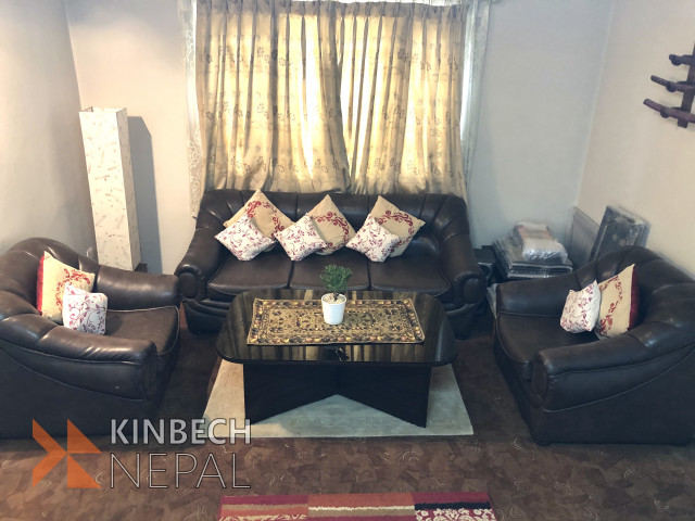 Sofa set with table | www.kinbechnepal.com