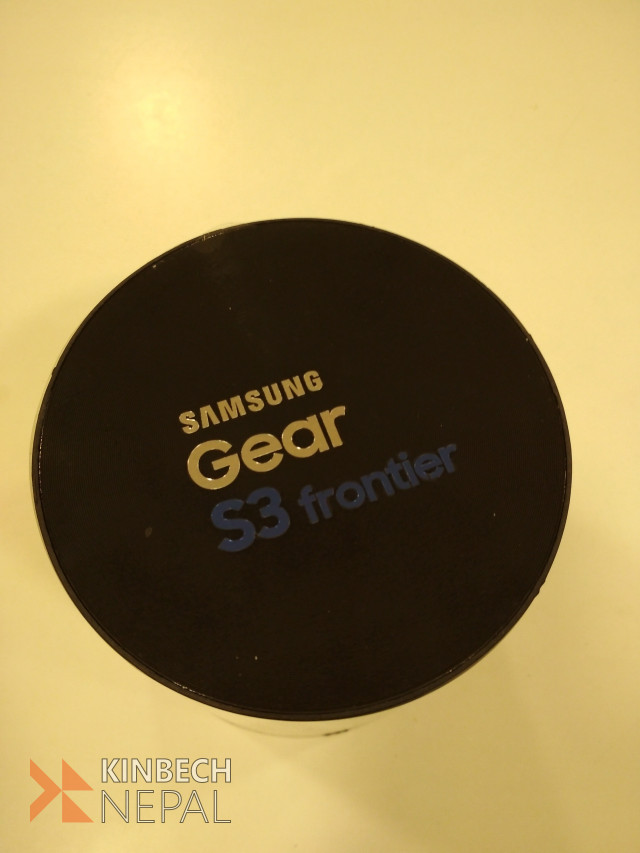 Samsung Gear S3 Frontier | www.kinbechnepal.com