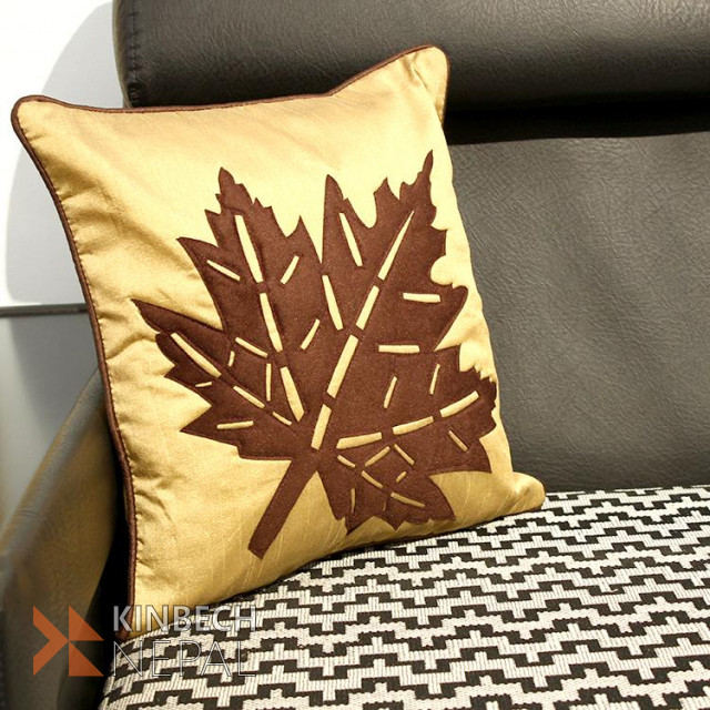 Embroidery Cushion Cover Set Of 5- 16*16 Inch | www.kinbechnepal.com