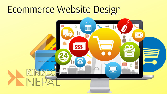 E-commerce website design in Kathmandu | www.kinbechnepal.com