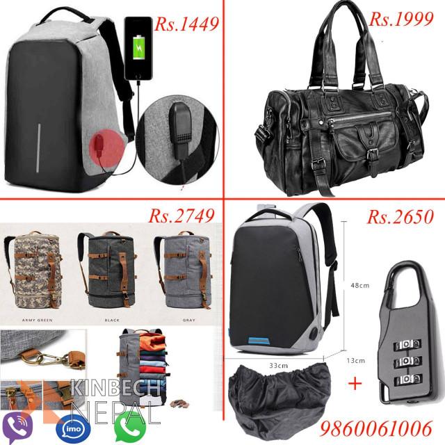 High Quality Anti-theft Bag | www.kinbechnepal.com