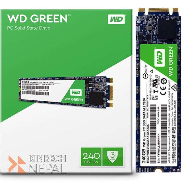 WD Green 240GB M.2 2280 Solid State Drive | www.kinbechnepal.com