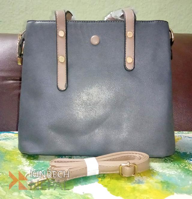 Gray Ladies Bag On Sale | www.kinbechnepal.com