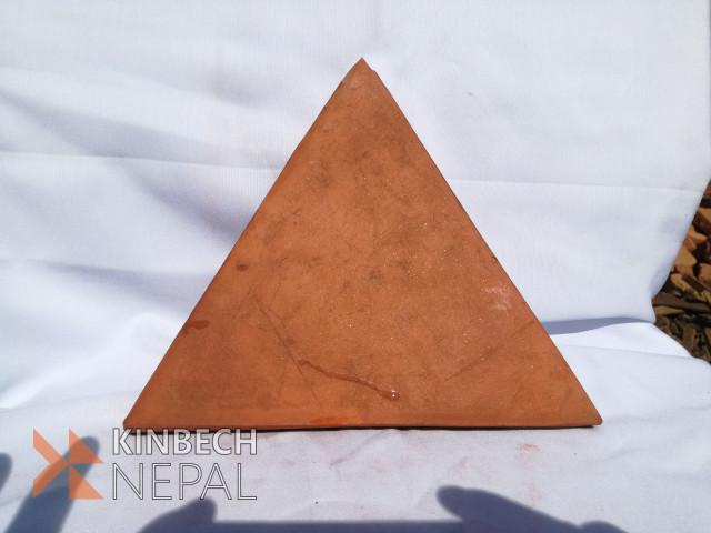Terracotta Ceramics Plane (Equilateral Triangle | www.kinbechnepal.com