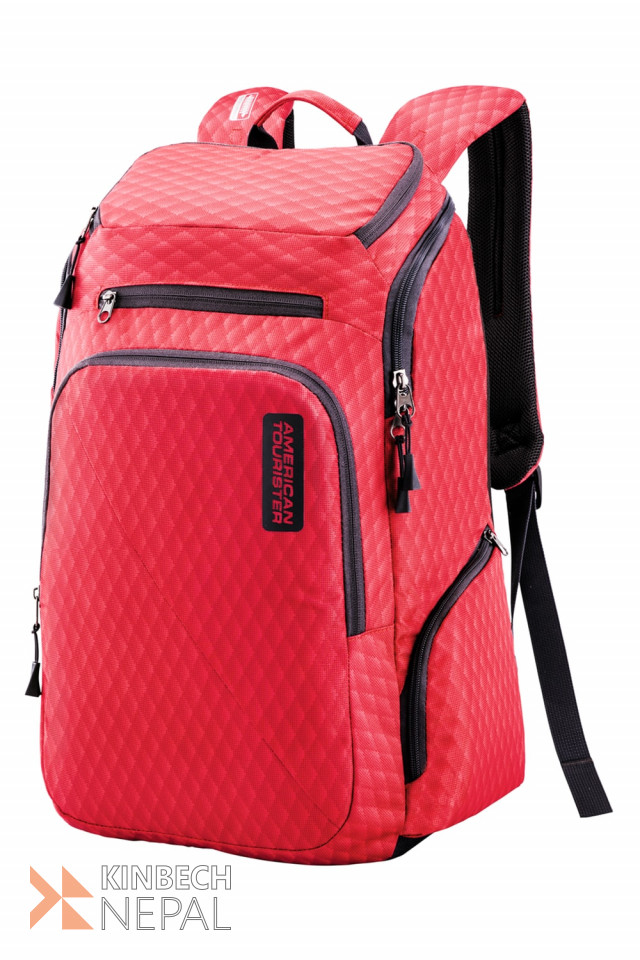 Laptop bag American Tourister ACRO +03 RED | www.kinbechnepal.com