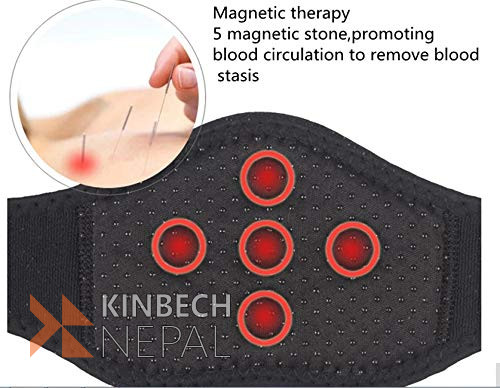 Magnetic Heat Collar For Neck | www.kinbechnepal.com