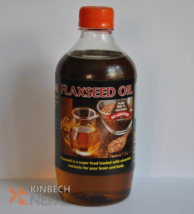 Flax Seed Oil | www.kinbechnepal.com