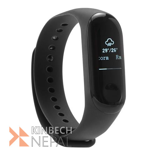 Original Xiaomi Mi Band 3 Heart Rate Monitor Smart Wristband   www.kinbechnepal.com