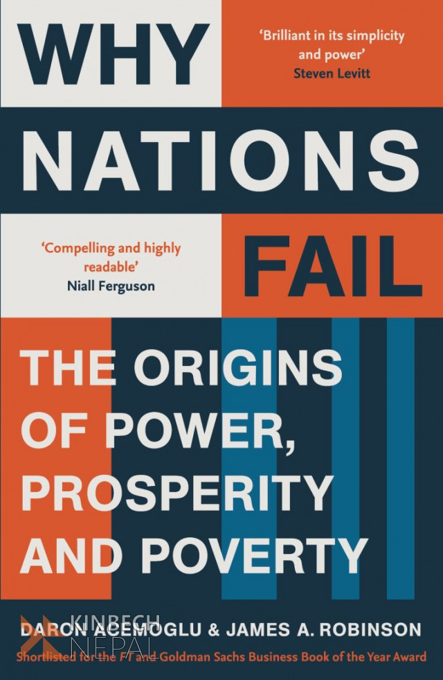 Why Nations Fail by Daron Acemoglu | www.kinbechnepal.com