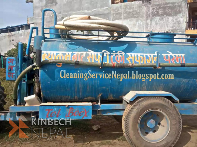 Septic Tanks Cleaning All over Nepal | www.kinbechnepal.com