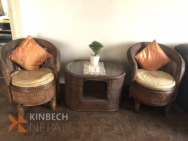 Cane furniture | www.kinbechnepal.com