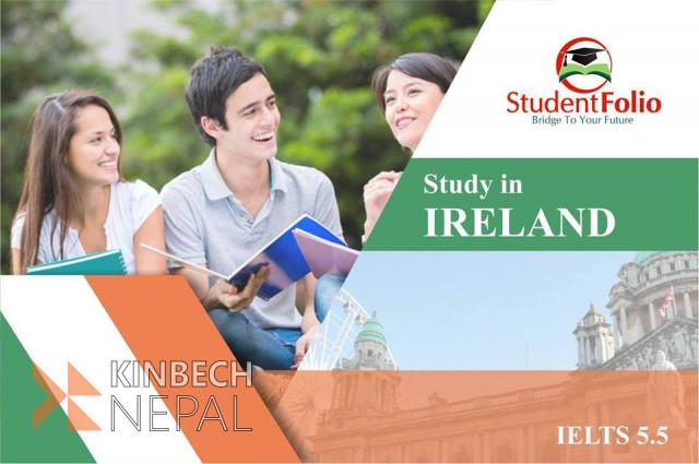 Study in Ireland | www.kinbechnepal.com