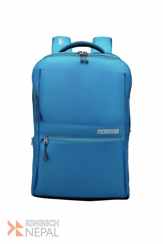 American tourister Laptop Backpack Insta Plus 02 Teal | www.kinbechnepal.com