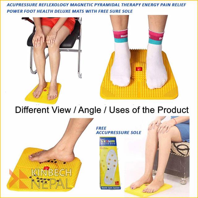 Pain Relief Acupressure Foot Mat | www.kinbechnepal.com