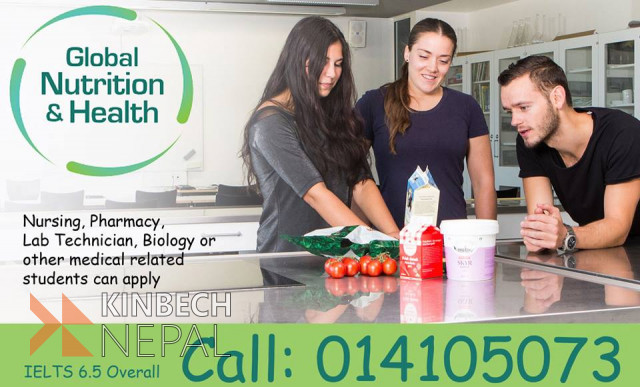 Study Bachelor in Global Nutrition & Health in Denmark | www.kinbechnepal.com