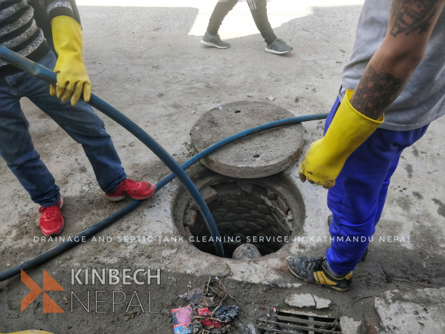 Drainage and Septic tank cleaning service in Nepal | www.kinbechnepal.com