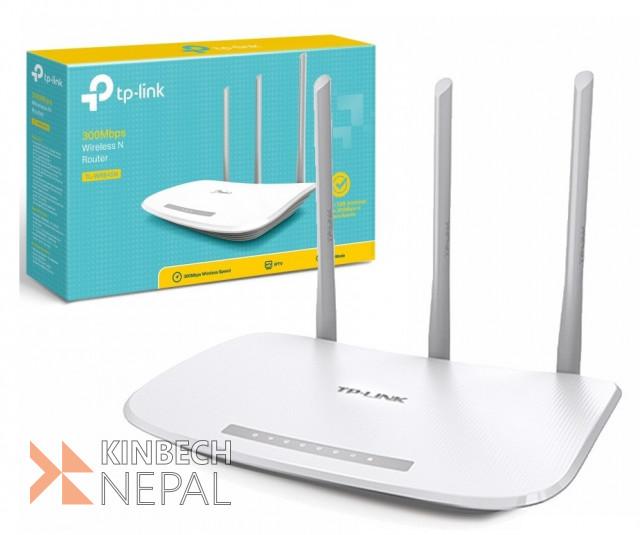 Tp link Tl-wr845n V4 300mbps Wireless Router | www.kinbechnepal.com