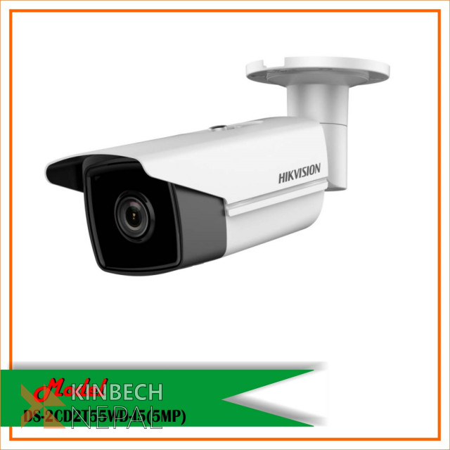 Hikvision Exir CCTV Camera-DS-2CD2T55WD-I5       (5 MP ) | www.kinbechnepal.com