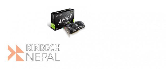 Graphic Card Msi Nvidio Gtx 1080 Armor 8gb | www.kinbechnepal.com