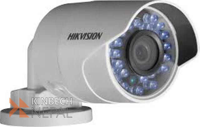 IR Bullet Camera with PoC DS-2CE16D0T-IRPE Power Over Coax | www.kinbechnepal.com
